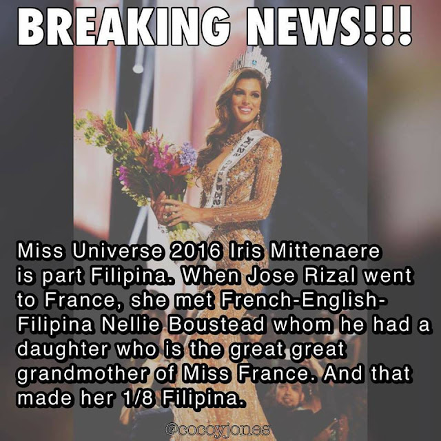 Miss Universe 2017 Is A Descedant Of This Filipino Hero! Could It Be True? Find Out Here!