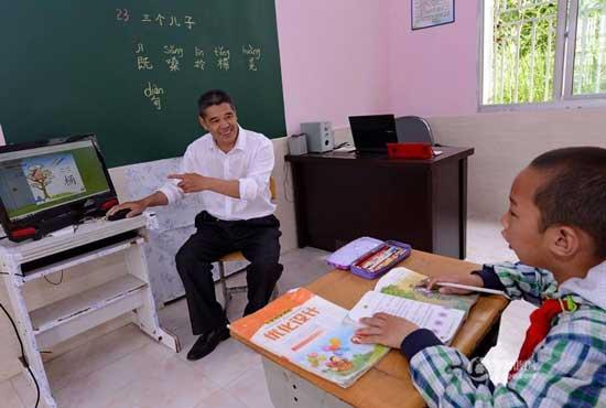 في الصين فقط:مدرسة باكملها من أجل طفل واحد