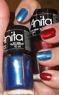 Safira (blue) and Grande Amor (red)