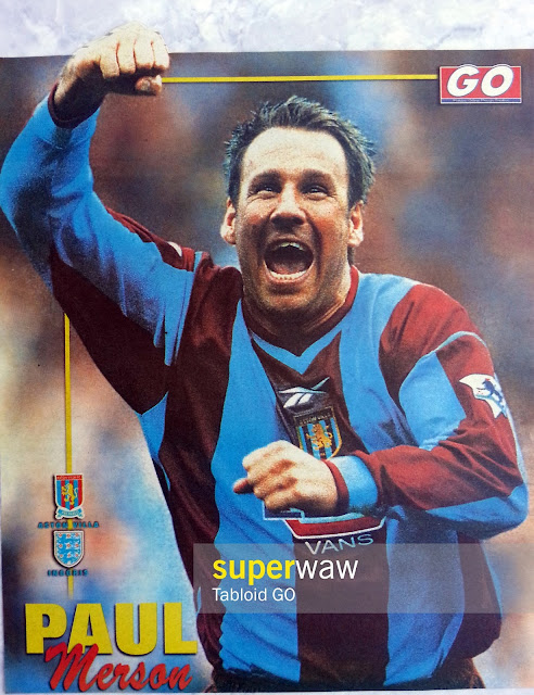 Paul Merson Aston Villa