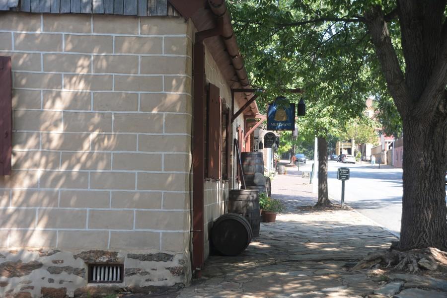 Dans les rues de Old Salem
