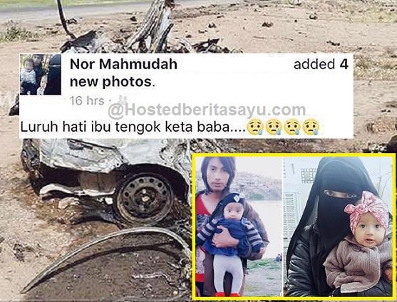 SAYU !! Luruh hati ibu lihat kereta Baba.. PDRM dakwa kematian Muhammad Wanndy belum sah (5 Gambar) - Luahan Wanita Ini