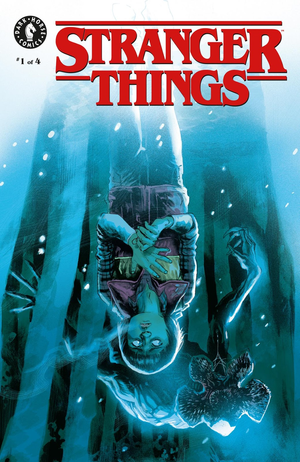 Stranger Things #1 Variant Cover by Rafael Albuquerque