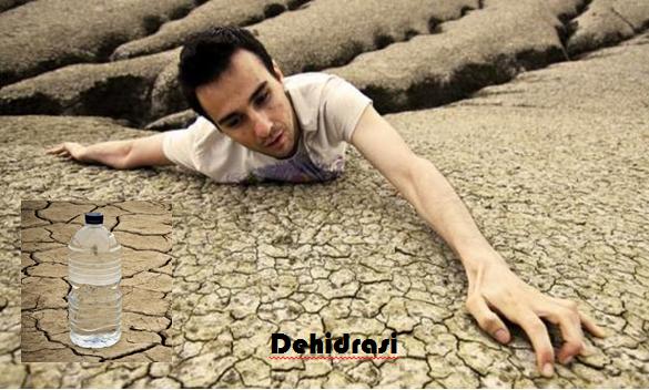 Akibat Dehidrasi, Dehidrasi, Cairan, Kekurangan Cairan, Haus