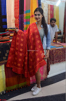Neha Despandey in short deep neck dress at the Silk India Expo Exhibition ~  Exclusive 061.JPG