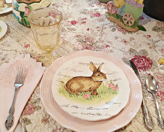 Penny 39 S Vintage Home Sunny Yellow Easter Tablescape