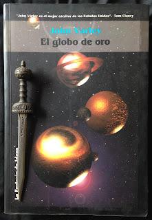 Portada del libro El globo de oro, de John Varley