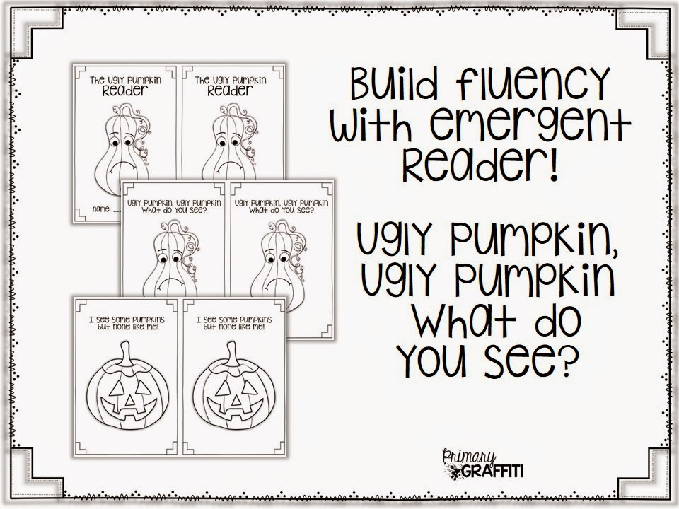 Primary Graffiti: The Ugly Pumpkin {Book Companion}