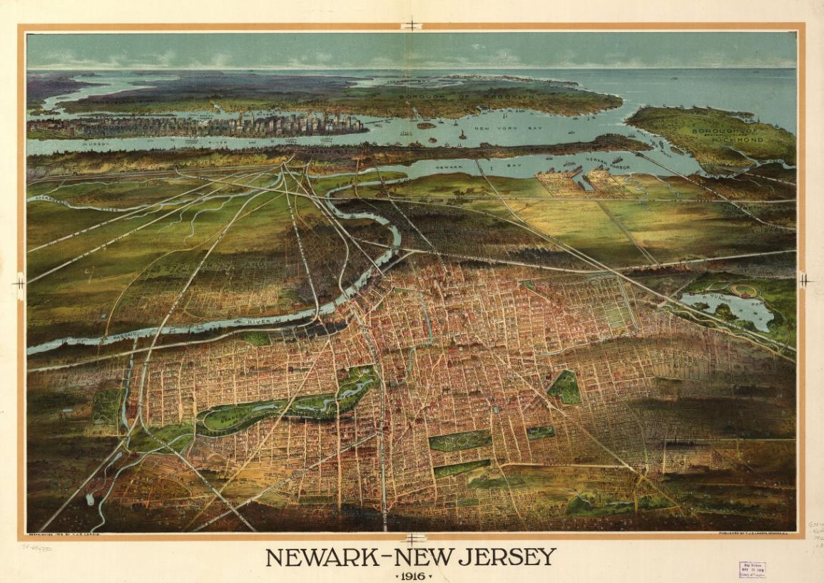 Newark - New Jersey (1916)