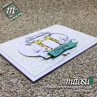 Stampin' Up! Animal Outing with Blended Seasons Bundle Card Idea. Order supplies from Mitosu Crafts UK Online Shop
