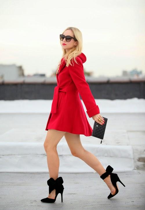 kırmızı palto