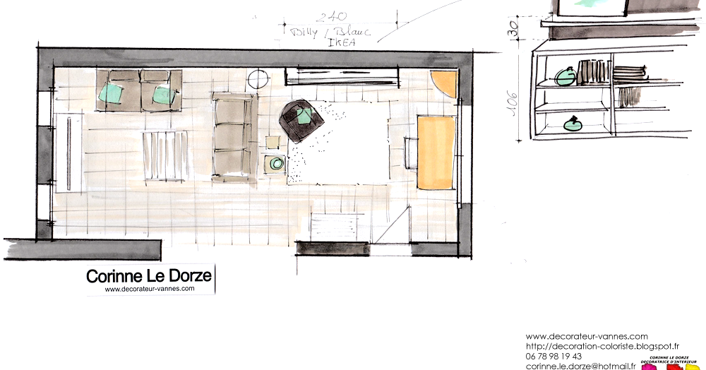 Corinne le dorze d coratrice architecte d 39 int rieur corinnedeco56 vannes morbihan 56 - Architecte d interieur vannes ...