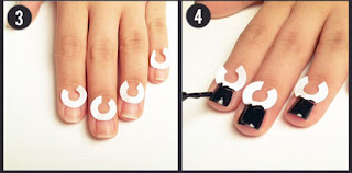 Peter Pan Collar - Nail Art Tutorial