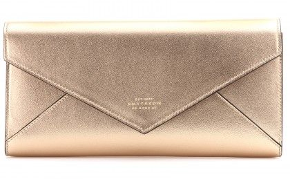On my mind...a golden clutch [one can never have too many really...]