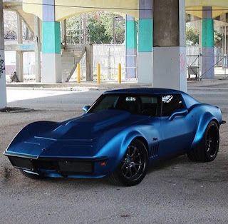 blue color to inspire the color of your muscle car 01
