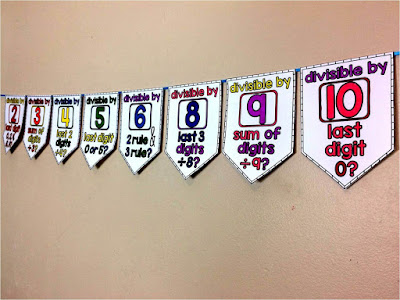 Divisibility Rules Pennant