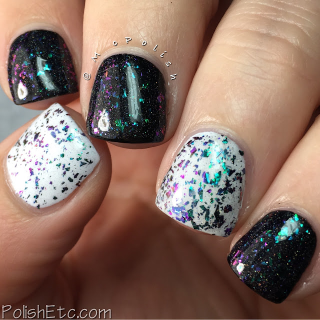 Top Shelf Lacquer - Holiday Flake Out Collection - McPolish - Snowball Cocktail