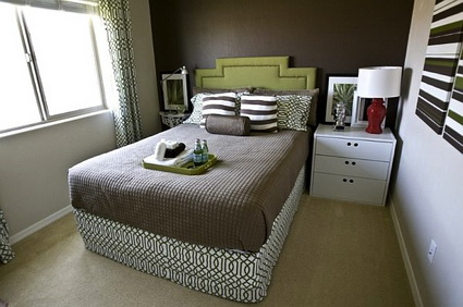6 Tips For Decorating Small Bedrooms 7