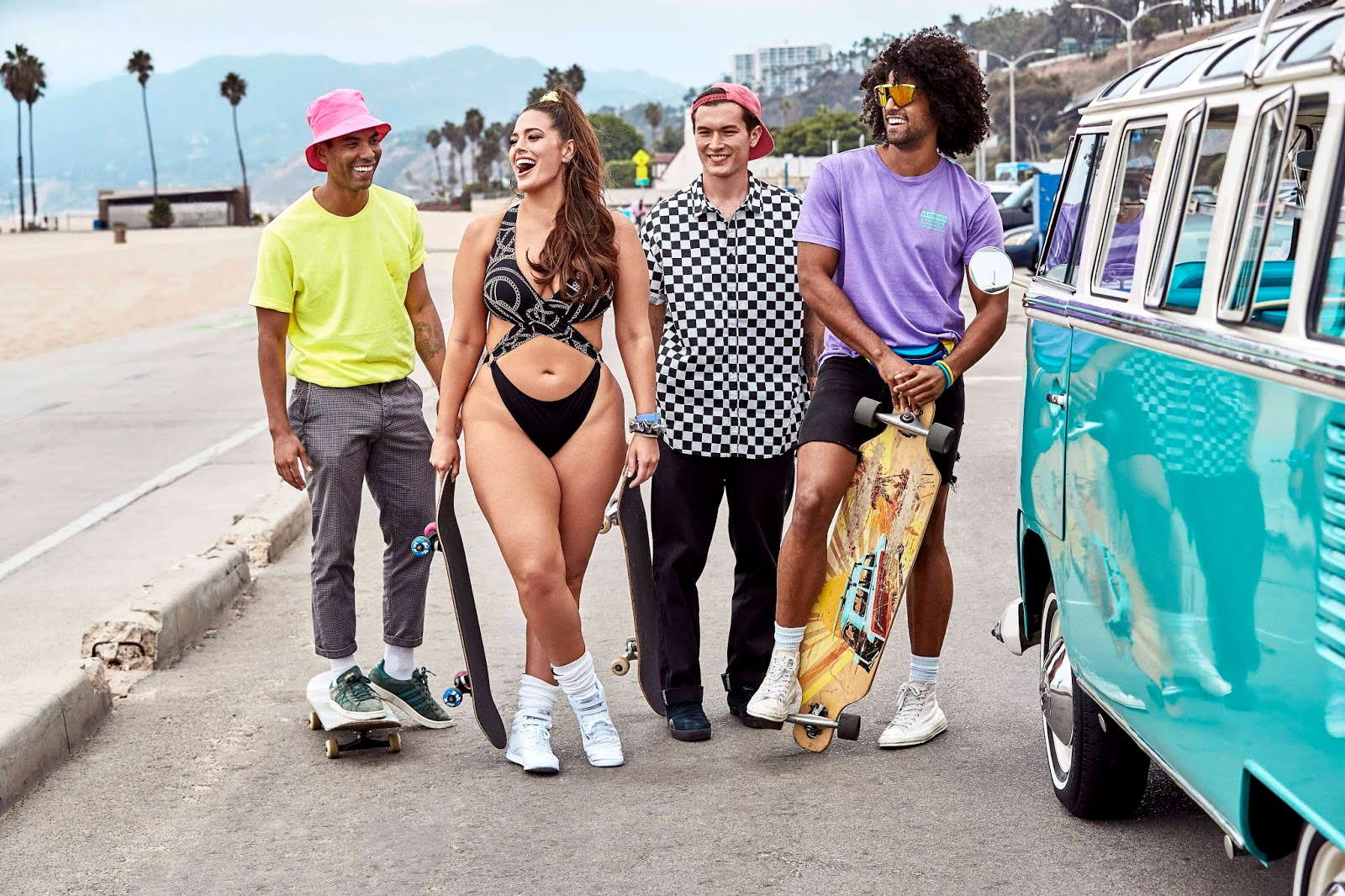 Ashley Graham: Shows her 2019 Resort collection
