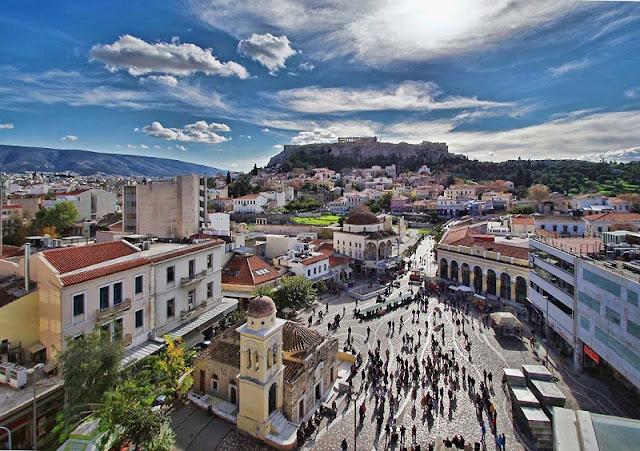 Passeios românticos em Atenas, Grécia