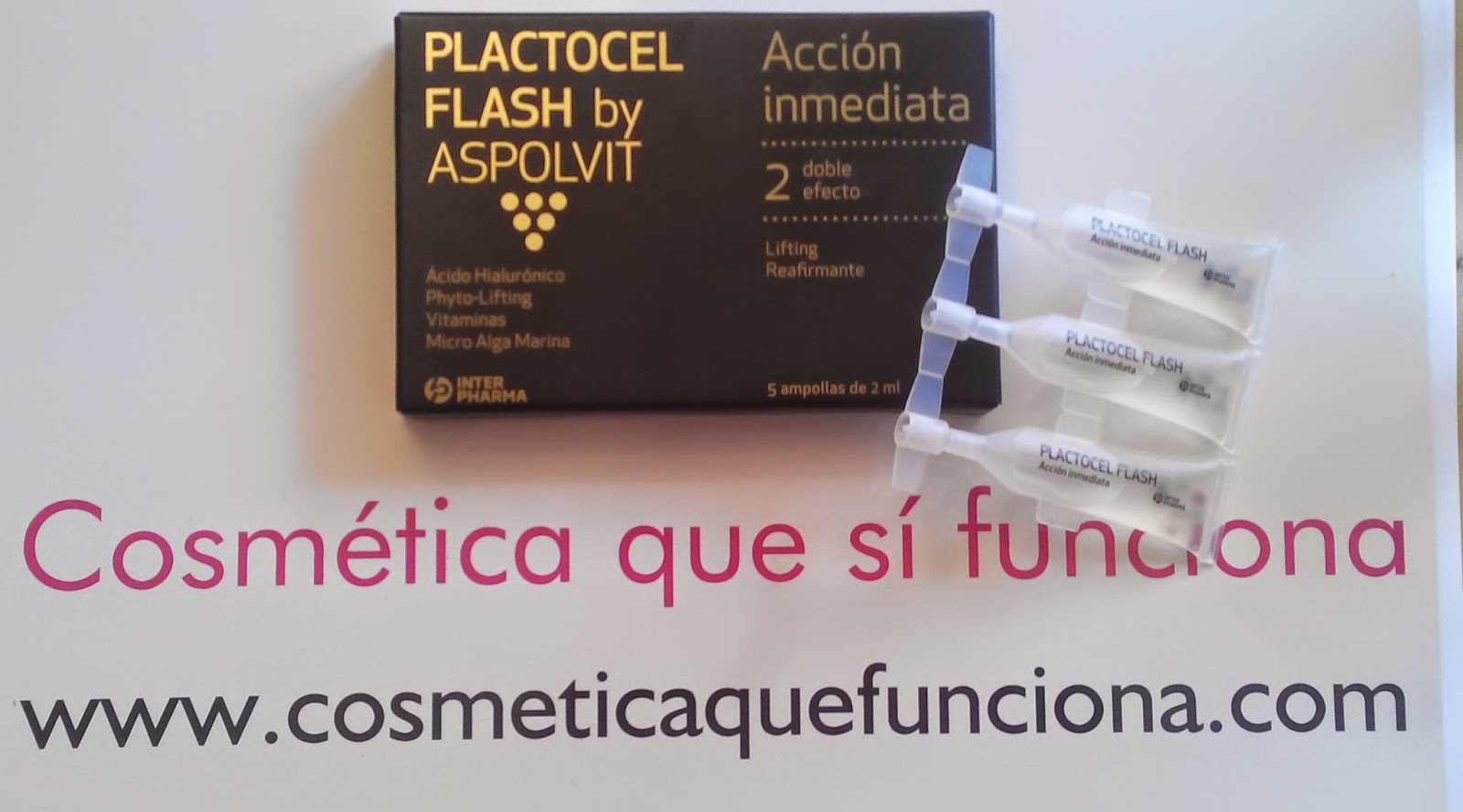 Plactocel Flash de Aspolvit: Belleza en un instante. - Blog de Belleza Cosmetica que Si Funciona