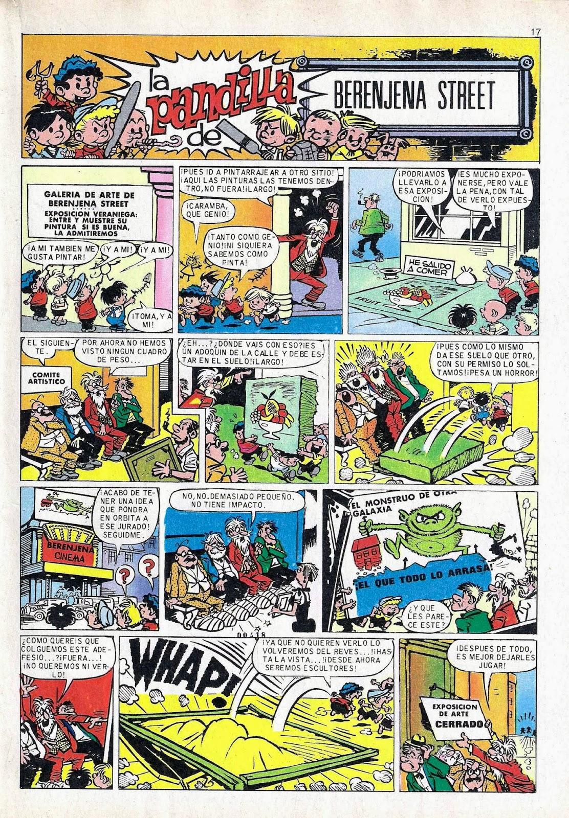 La Pandilla de Berenjena Street (The Terrors of Tornado Street) Martz Schmidt, Din Dan nº 122