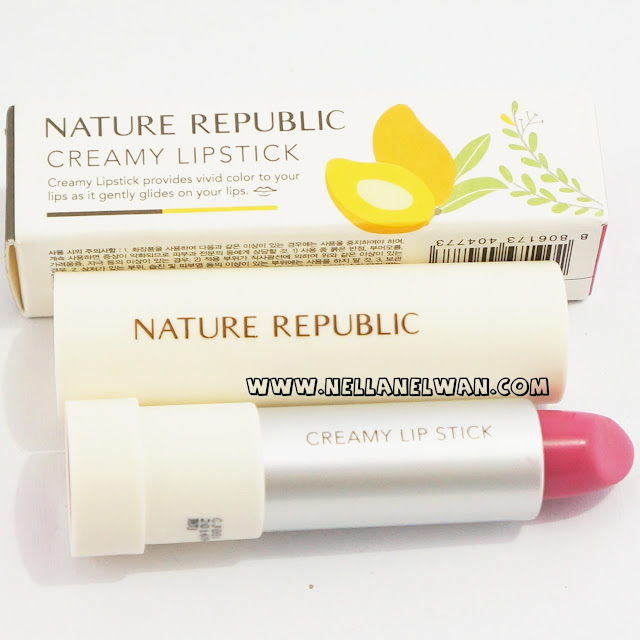 nature republic creamy lipstick swatch beauty blogger