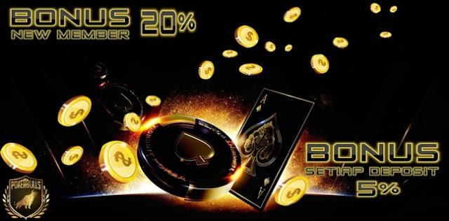 Pokerbulls  - Bonus Chip Poker 20000 Deposit 100000