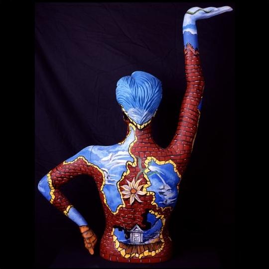 Joey Havlock 1967 | American Abstract pintor surrealista