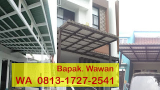 Kanopi Baja Ringan Bekas Wa 0813 1727 2541 Jasa Pasang Tangerang