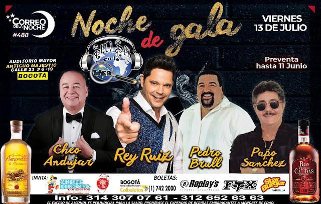 ► Noche de Gala: Rey Ruiz, Pedro Brull, Papo Sanchez y Cheo Andujar en Concierto