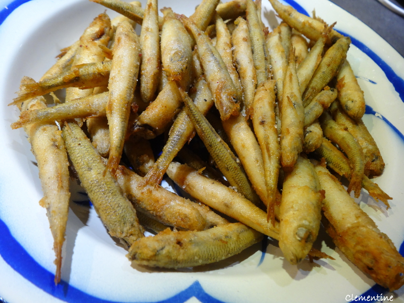 Le blog de Clementine: Eperlans frits