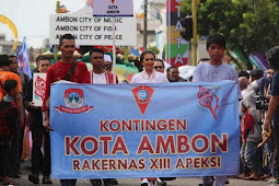 Ambon City of Music, City of Fish, City of Peace Hadir di Karnaval Budaya Nusantara