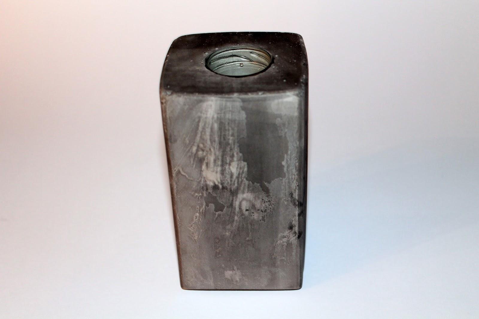DIY, Basteln: Gips / Beton Vase  als Wohndekoration - DIYCarinchen