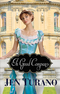 "Book cover of ""In Good Company"" by Jen Turano"