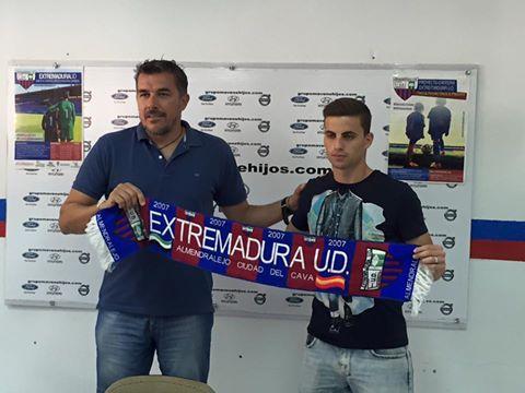 Oficial: El Extremadura firma a Barahona