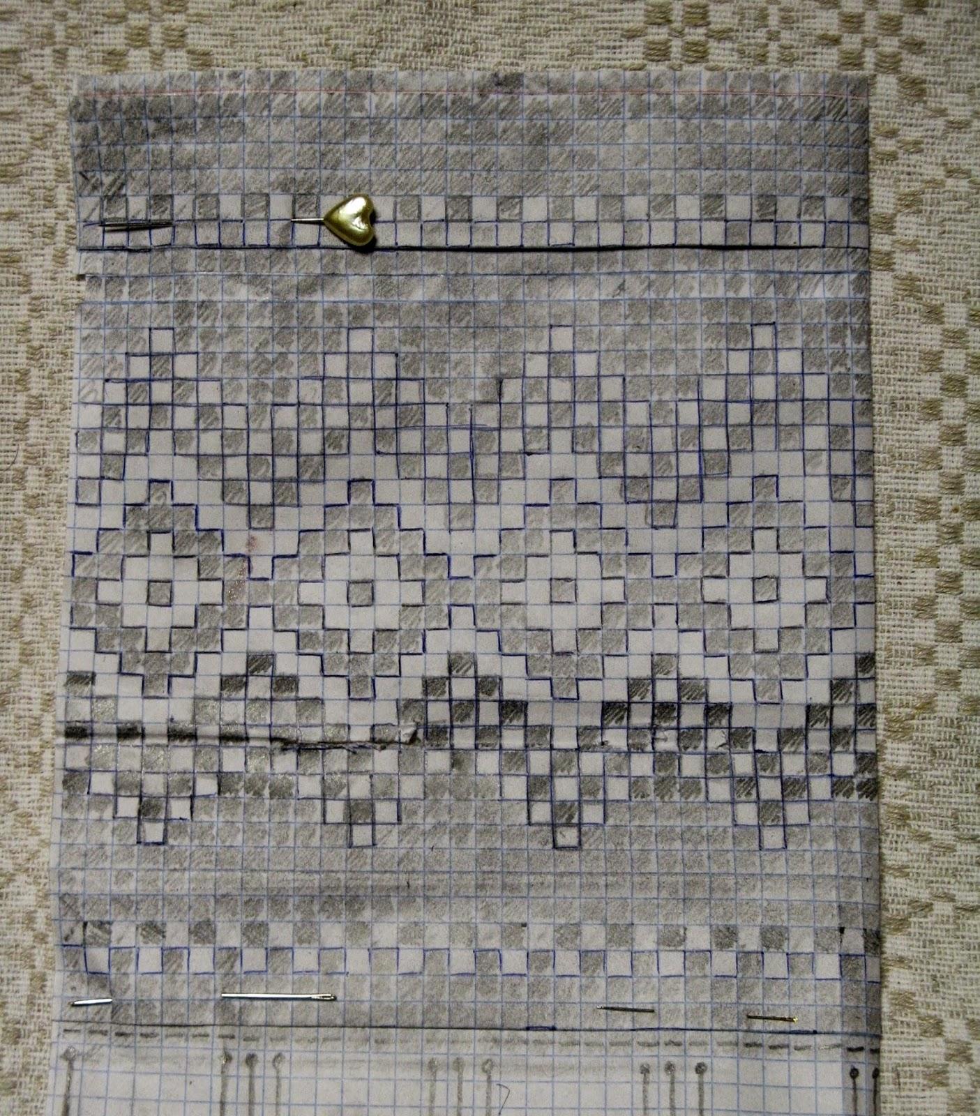 очень красивые вязанные варежки схемы