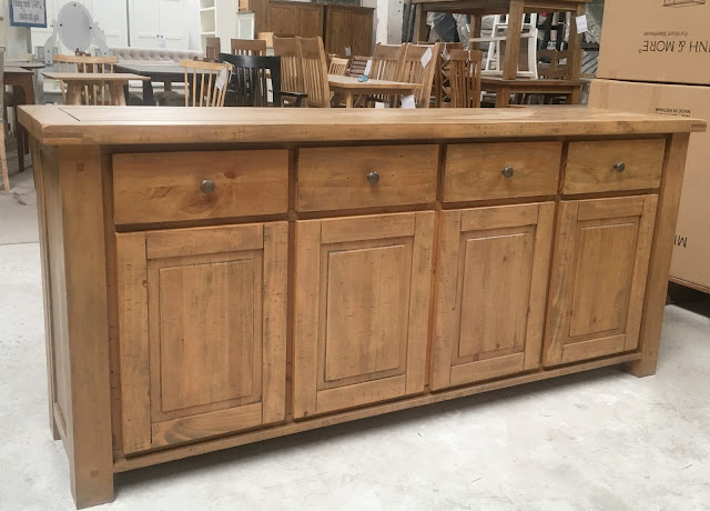 Quầy tủ bếp gỗ thông pallet giá rẻ