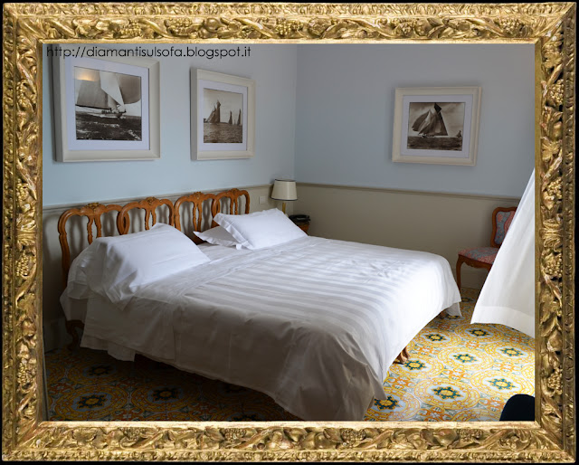 Hotel della Regina Isabella - le camere