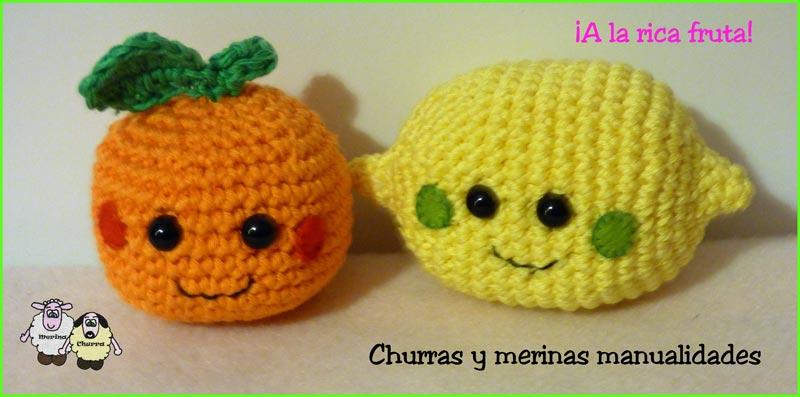 Churras y Merinas Manualidades: Naranja y Limón Amigurumi Patrón Libre