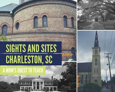 Boone Hall, Circular Church, Charleston Tea Plantation