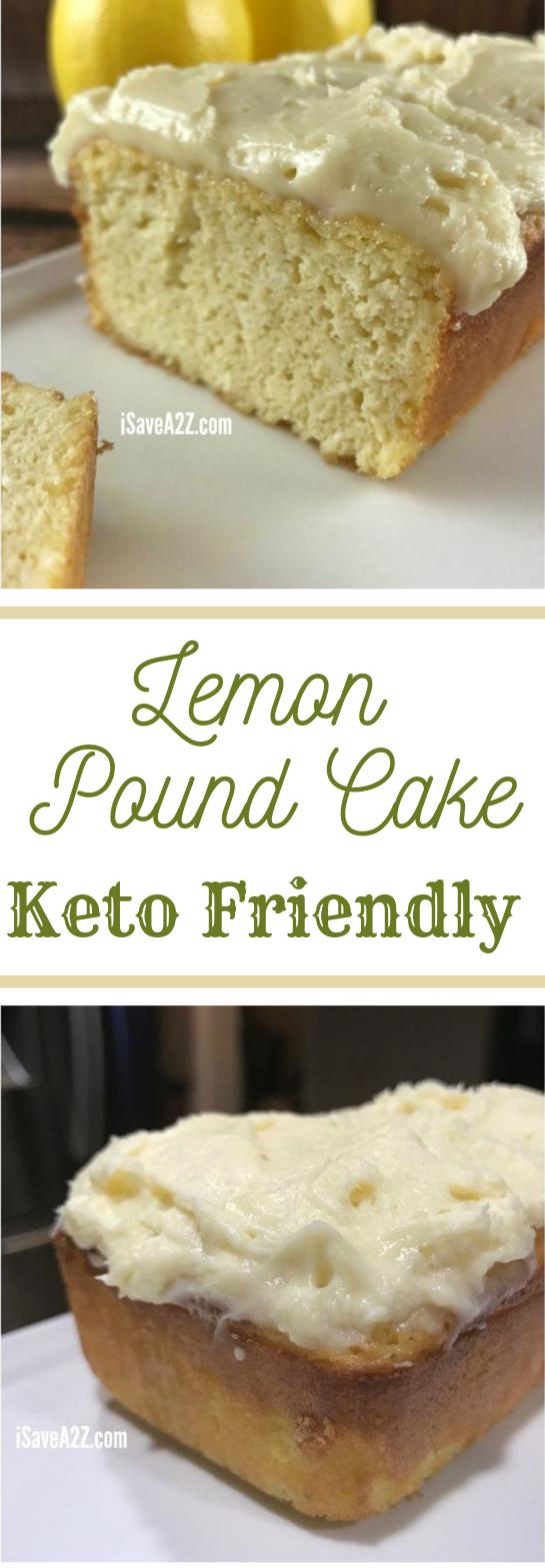 Low Carb Lemon Pound Cake Keto Friendly