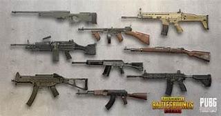 Pubg game gun