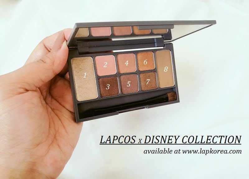 Lapcos x Disney Color-Fit Shadow Kit Review + Swatches