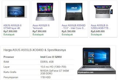 Daftar Laptop Murah Untuk sketchup
