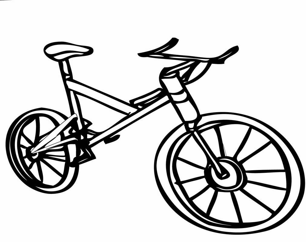 71 Gambar Mewarnai Sepeda Motor Terbaru