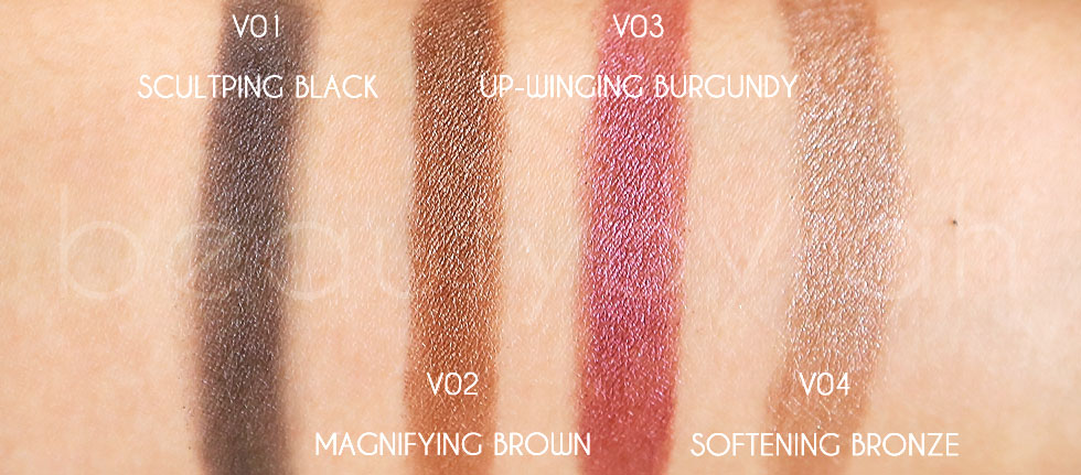 Loreal Super Liner V Sculptor Review and Swatches