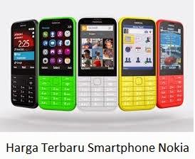 Daftar Harga Terbaru Smartphone Nokia