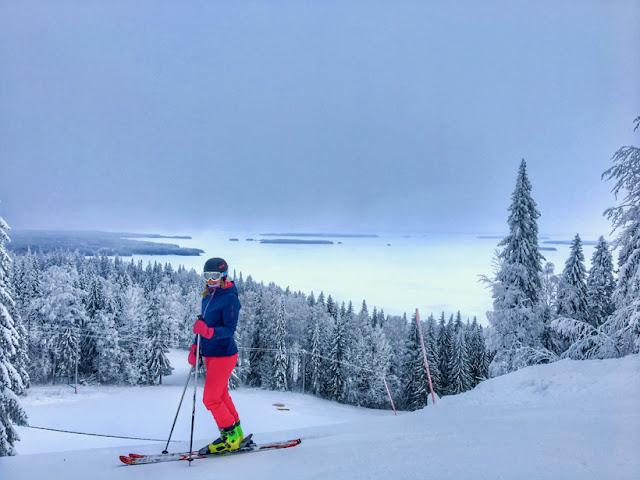 koli skiing laskettelu valokuvaus photography iPhone 6s
