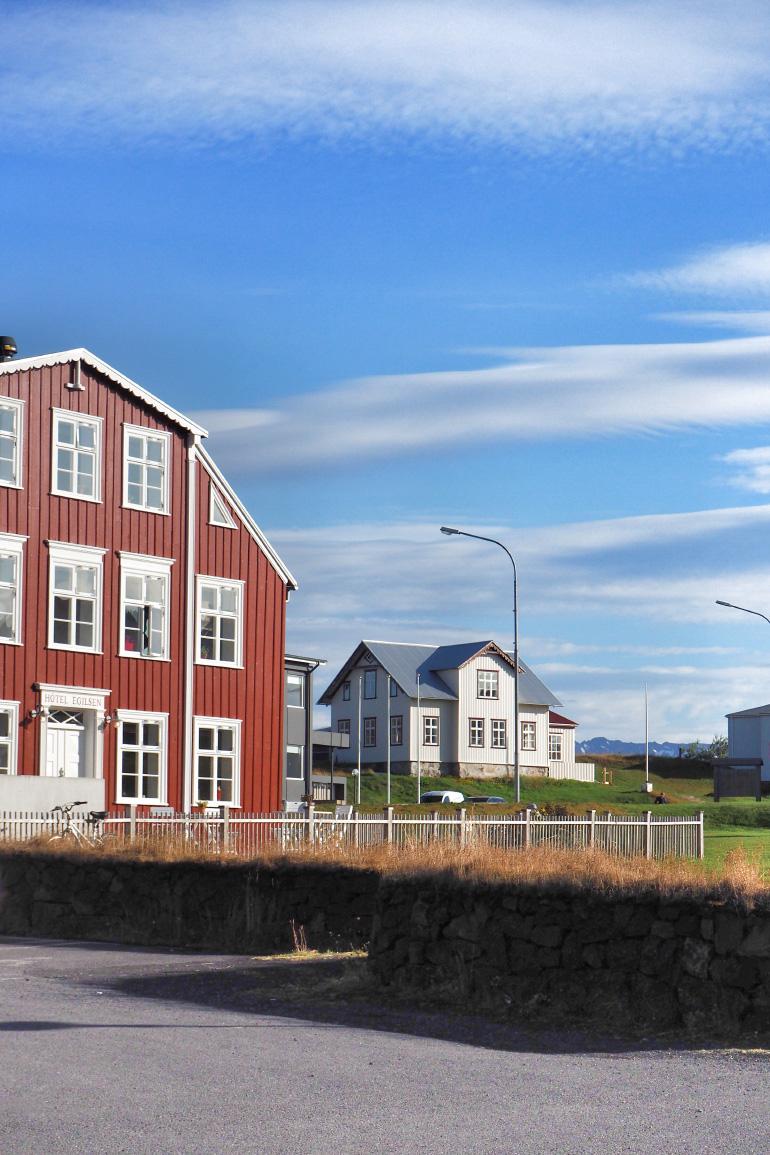 Voyage en Islande - ville de Stykkishólmur